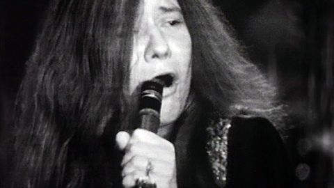 Popshow - Janis Joplin and her group