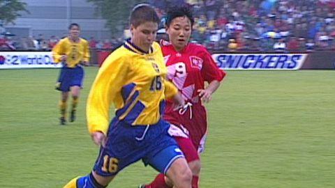 Kvartsfinal: Sverige - Kina