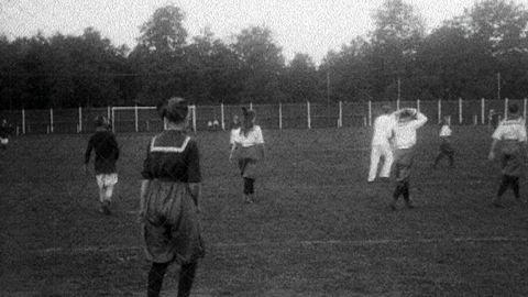 Kvinnlig fotboll i Gävle 1917