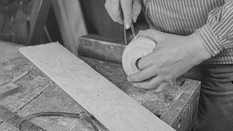 Vagnmakeri på Söder (utan ljud) 1932