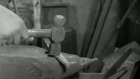 Hovslageri på Söder (utan ljud) 1931