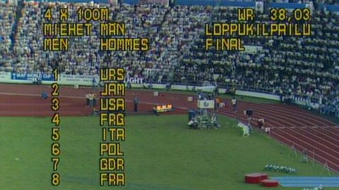 Friidrott: VM i Helsingfors 1983