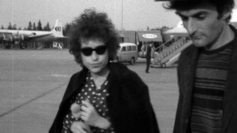 Bob Dylan på Arlanda 1966