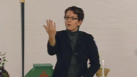 Våra händer - gudstjänst på teckenspråk