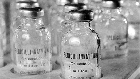 Alexander Flemings upptäckt av penicillinet