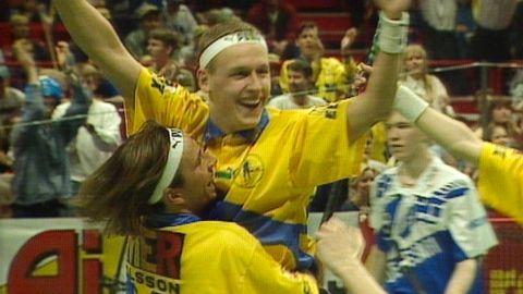 Reportage: VM-final Sverige - Finland 1996