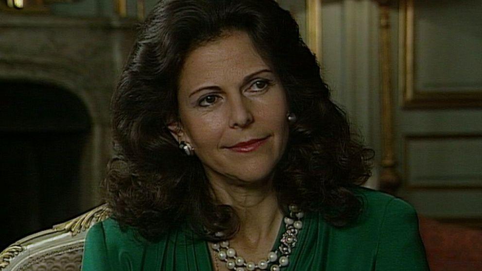 drottning silvia fyller år Drottning Silvia 50 år | Öppet arkiv | oppetarkiv.se drottning silvia fyller år