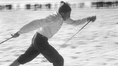 "Nils ""Mora-Nisse"" Karlsson vinner SM 1953"