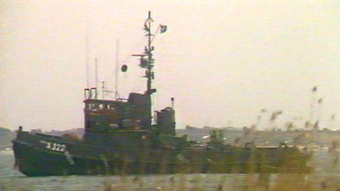 Reportage: Ubåtsjakten i Karlskrona