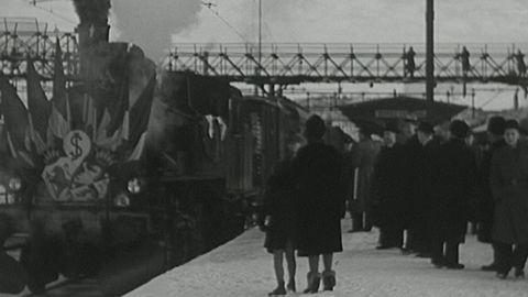 Den sista järnvägslänken Borås - Jönköping (utan ljud)