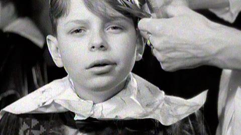 Mästarkurs i hårfrisyrer 1948