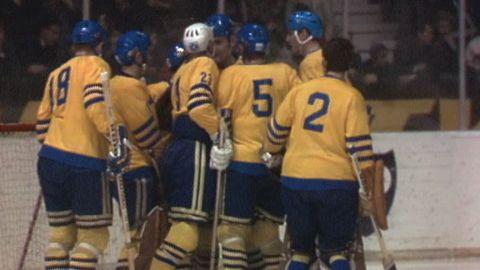 VM i ishockey 1970: Tjeckoslovakien - Sverige