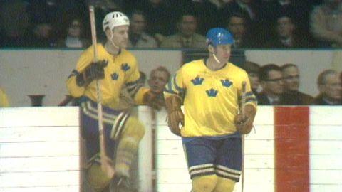 VM i ishockey 1969: Sverige - Tjeckoslovakien