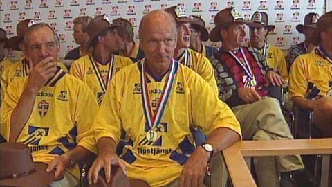 Presskonferens efter fotbolls-VM 1994