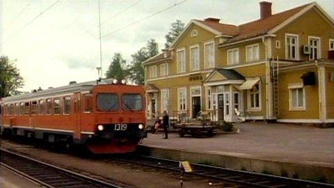 Inlandsbanan - De som tog tåget