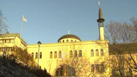 Glädjefest i moskén
