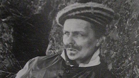 Strindbergs ansikte