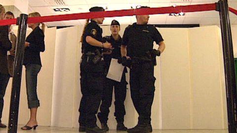 Anna Lindh knivskadad på NK
