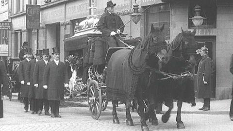Avsnitt 70 av 200: August Strindbergs begravning