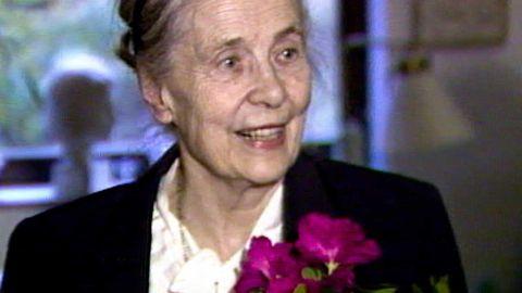 Alva Myrdal 1982