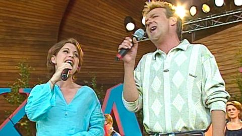 Björn Skifs och Helen Sjöholm