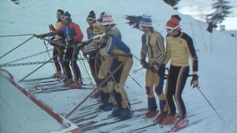 Yrke slalomåkare