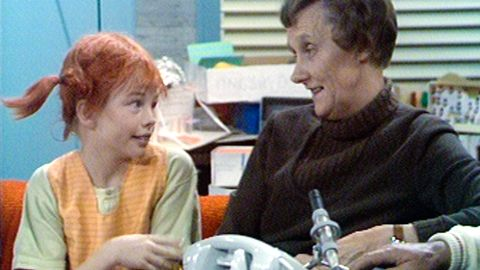 Astrid Lindgren och Pippi Långstrump