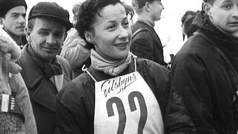 Skid-VM i Falun och Åre 1954