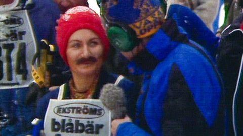 Maskerad kvinna i Vasaloppet avslöjas 1978