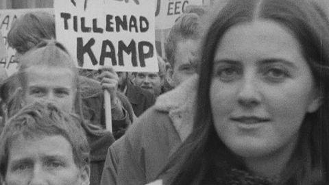 Första maj på 1970-talet