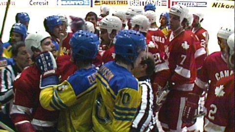 Ishockey-VM 1981: Sverige - Kanada
