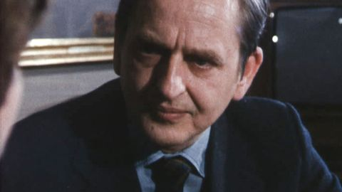 Olof Palme om Vietnamkrigets slut