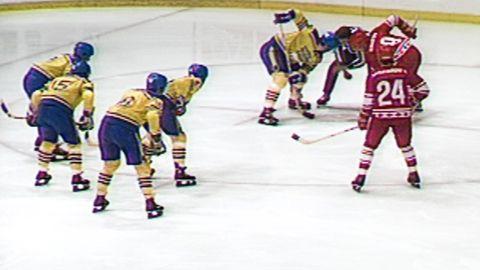 Ishockey-VM 1981: Sverige - Sovjet