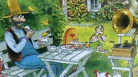 Pannkakstårtan, Rävjakten och Stackars Pettson