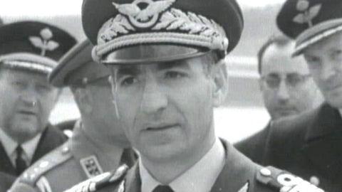 Shahen av Irans statsbesök 1960