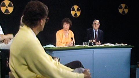 Varning radioaktivitet