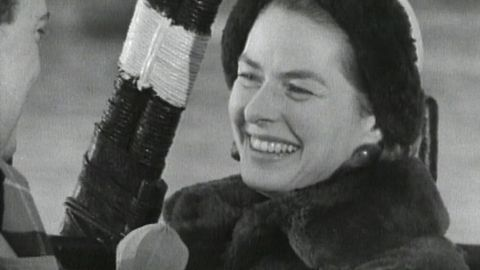 Ingrid Bergman intervjuas 1959