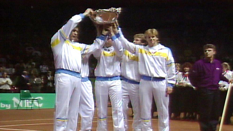 Tennis  Davis Cup finalen 1987 - Avsnitt 5 av 5  Fjärde singeln  Mats  Wilander - Vijay Amritraj  3e259f84c2