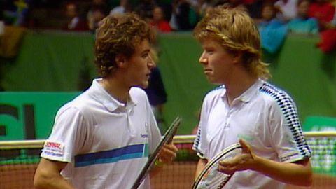 Avsnitt 3 av 5: Dubbel: Mats Wilander och Joakim Nyström