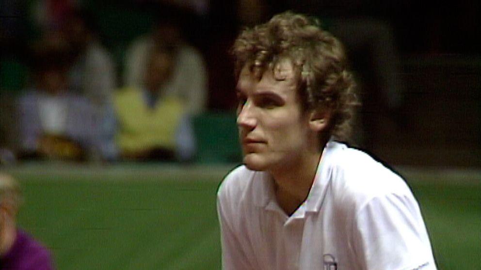 Tennis  Davis Cup finalen 1987 - Avsnitt 1 av 5  Första singeln  Mats  Wilander - Ramesh Krishnan  f57b8c30fd