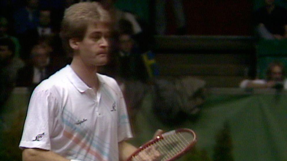 Tennis  Davis Cup finalen 1987 - Avsnitt 4 av 5  Tredje singeln  Anders  Järryd - Ramesh Krishnan  d4b55fa34d