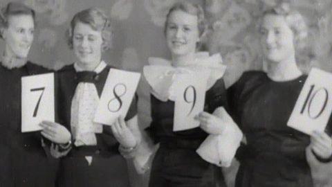 Göteborgs luciakandidater 1935