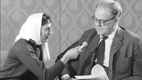 Avsnitt 233 av 400: Katarina Taikon intervjuar Tage Erlander