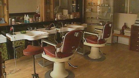 En frisersalong i Karlstad