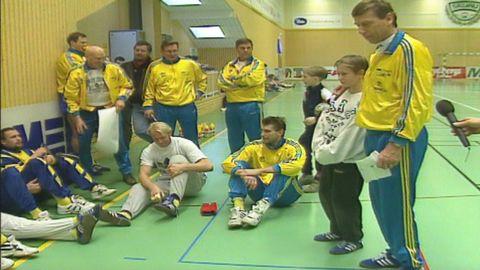 Handbollslandslaget möter Skurus pojklag
