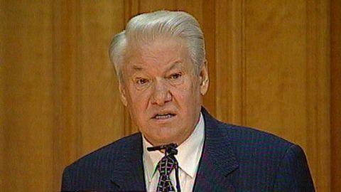 Avsnitt 232 av 400: Boris Jeltsins statsbesök 1997