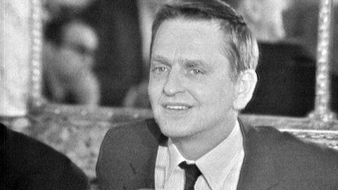 Olof Palme i Paris