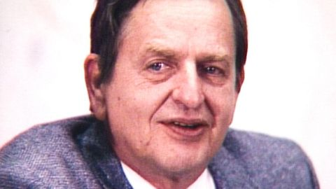 Första nyhetssändningen om mordet på Olof Palme