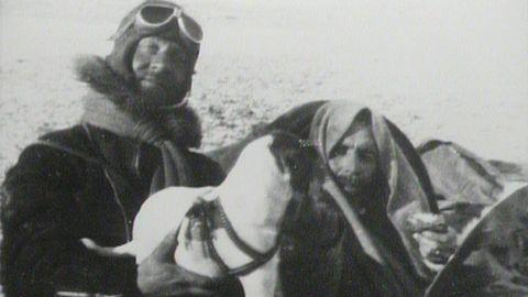 Löjtnant Lundborg och italienarna på isen