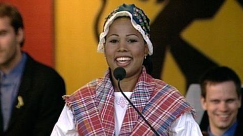 Alice Bah talar på nationaldagen